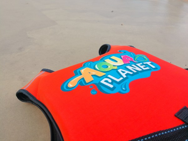 Life jacket in Aqua planet for both kids and adults