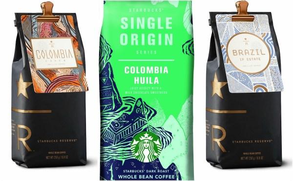 New Starbucks whole bean coffee