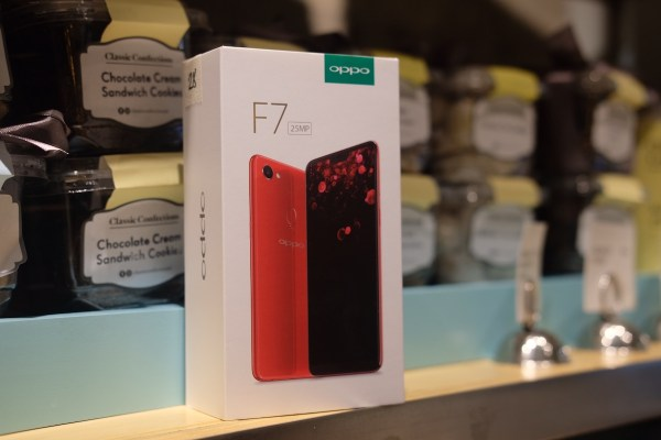 OPPO 25 megapixel smartphone
