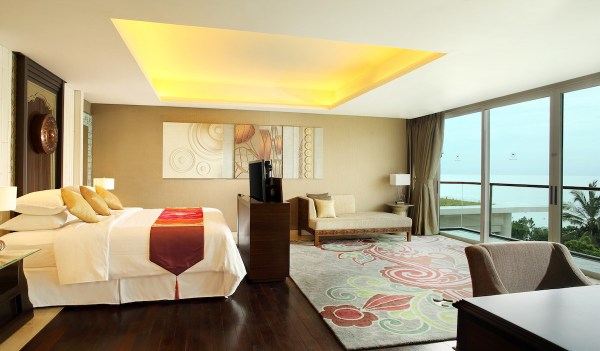 Presidential Suite - Bedroom - Sheraton Kuta Bali