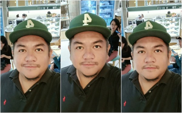 Selfie Magic of OPPO F7
