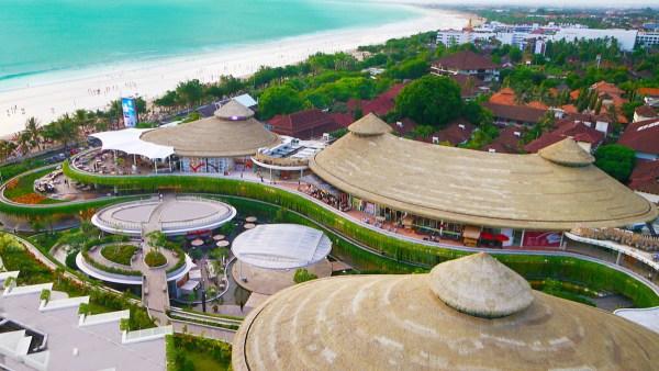 Sheraton Kuta Aerial view