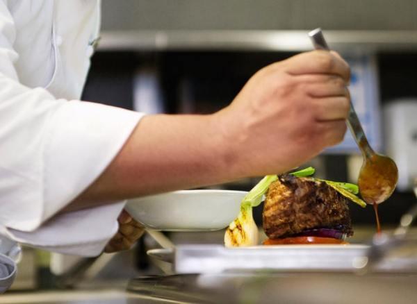 Steak at Catalonia Gran Via Hotel Madrid