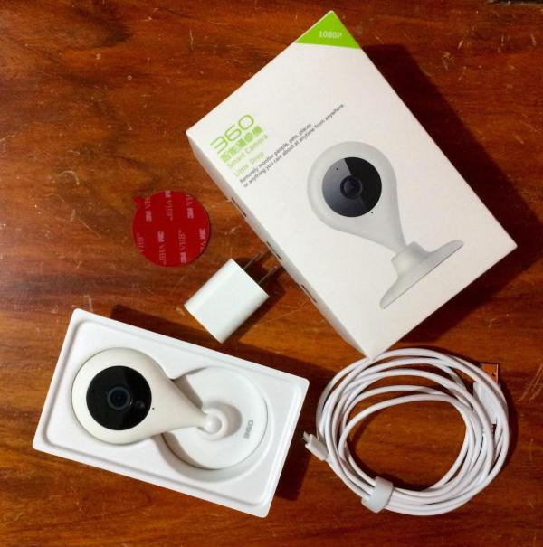 Unboxing Little Drop 360 Smart Camera