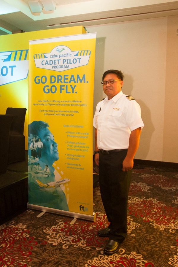 Capt Pol Salvador, Vice President, Flight Operations, Cebgo