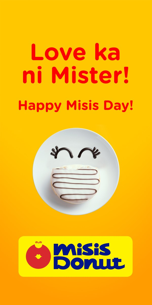 Happy Misis Day from Mister Donut