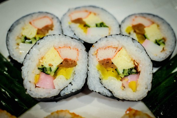 Have your fill of rolled sushi at Kitsho's weekend buffet spread Futomaki