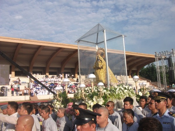 Our Lady of Mt. Carmel procession
