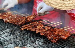 """Pork barbecues grilled with ease and convenience through Mama Sita's Barbecue Marinade """"One Bote, One Buhos, One Babad"""", making this classic Filipino food perfect any day of the week at home"""