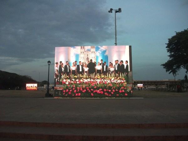 San Sebastian choir