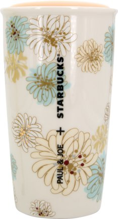 Starbucks X Paul & Joe Double Walled Mug floral