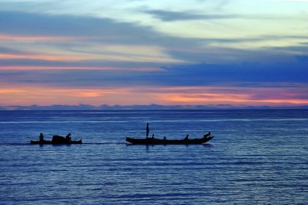 Sunset in Sarangani Bay
