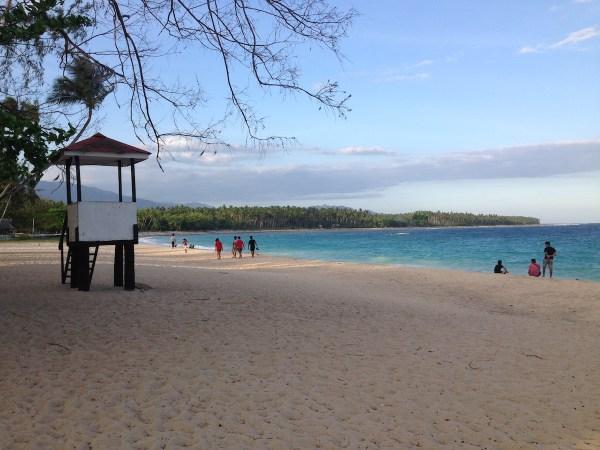 The beaches in Mati, Davao Oriental.