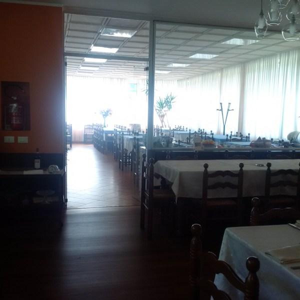 The indoor dining of Asmara