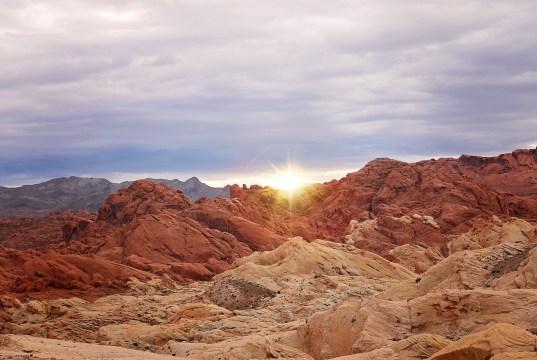 Valley of Fire in Las Vegas