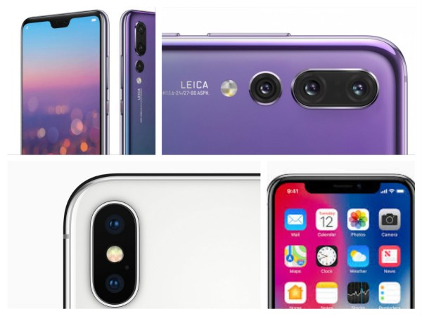 iPhone x vs. Huawei P20 Pro