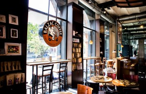 Inside Balzac Coffee