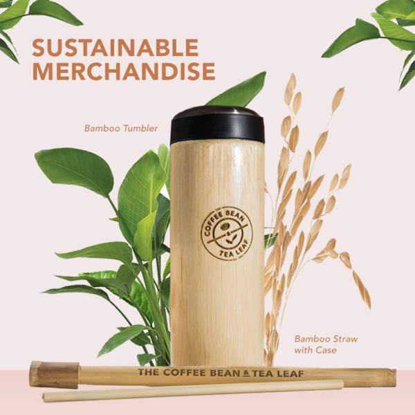 CBTL's Bamboo Tumbler and Straw