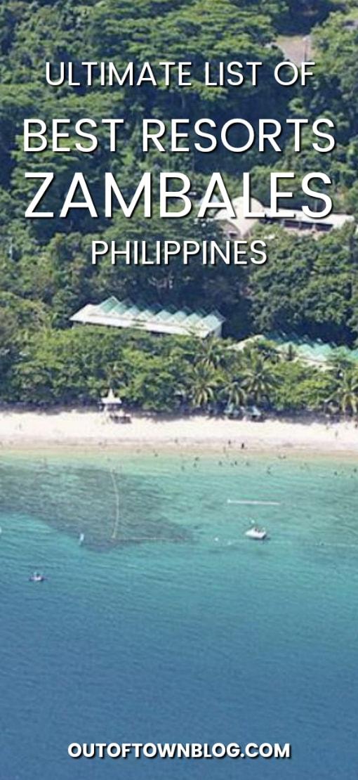 Best Beach Resorts in Zambales, Philippines.