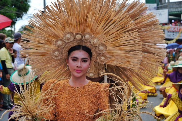 Continget for the Carabao Festival Queen of Pulilan