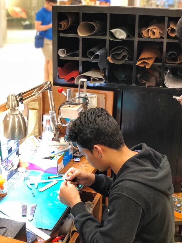Customized leather watch straps Manila