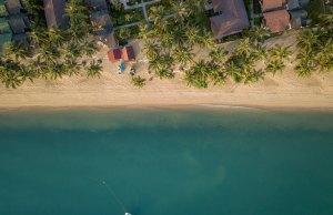 Koh Samui Beach by Stefan Kunze via Unsplash