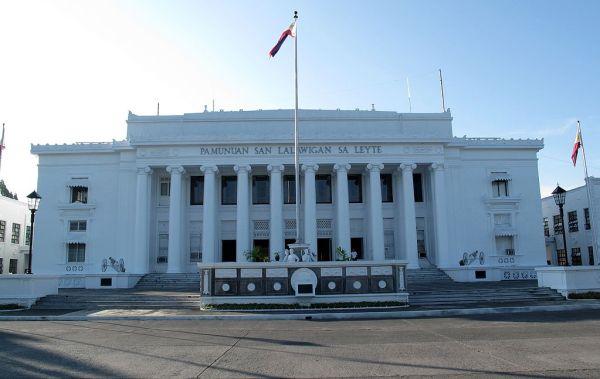 Leyte Provincial Capitol photo via Wikimedia Commons
