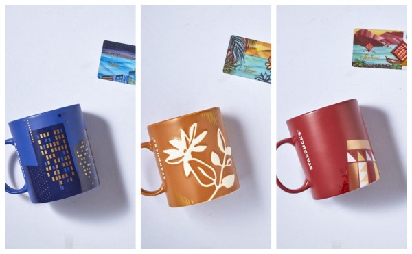 Luzon, Visayas and Mindanao Starbucks Island Series Collection