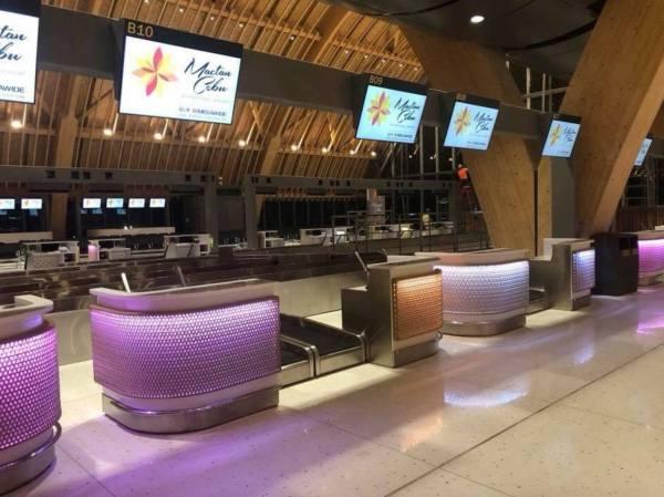 MCIA Terminal 2 Check-in counters photo by MJ de Leon