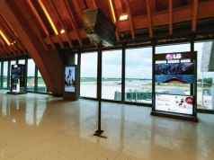 OLED TV at Mactan Cebu International Airport