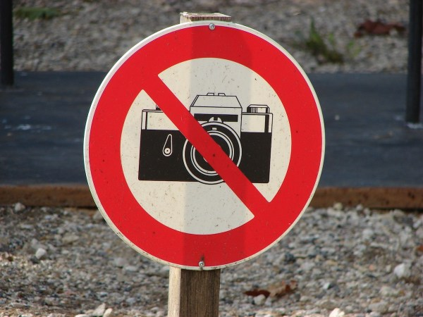 Photography not allowed
