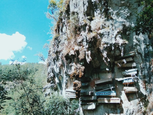 The Hanging Coffins of Echo Valley, Sagada in Mountain Province