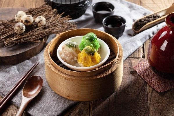 Steamed siu mai pork dumplings with quail egg - A Tasting Journey In Nostalgic Guangzhou