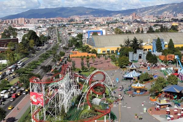 Theme Park in Bogota Colombia