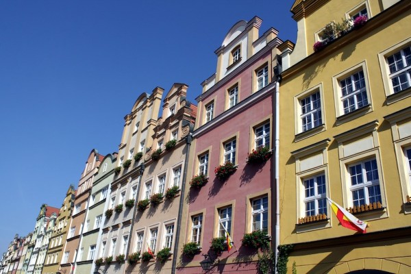 Buildings in Jelenia Gora