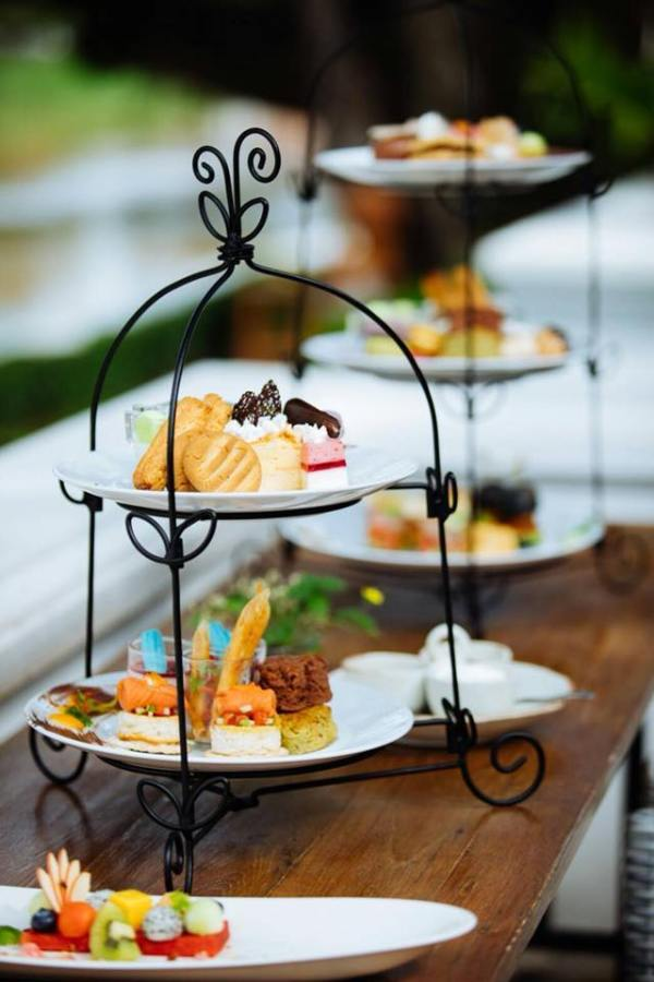 High Tea with beautiful river view at TIME Riverfront Cuisine and Bar