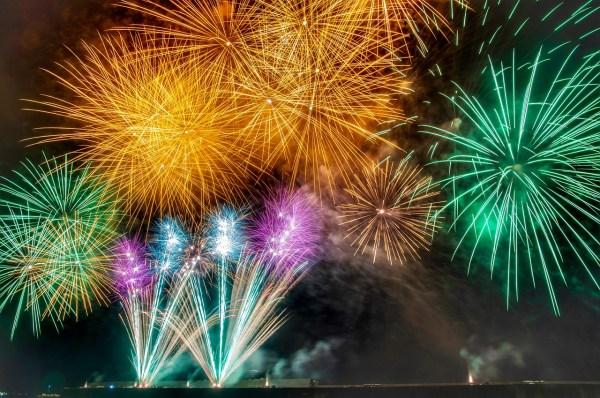 Japan Summer Fireworks