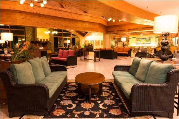 Lobby of The Forest Lodge at Camp John Hay