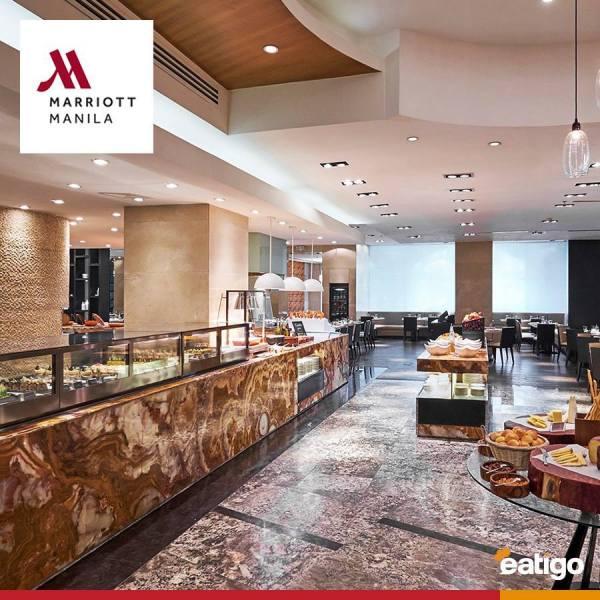 Marriott Cafe at Manila Marriott Hotel