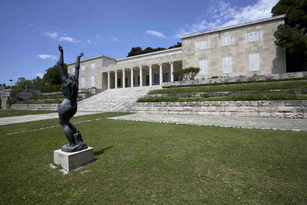 Mestrovic Gallery in Split photo via mestrovic.hr