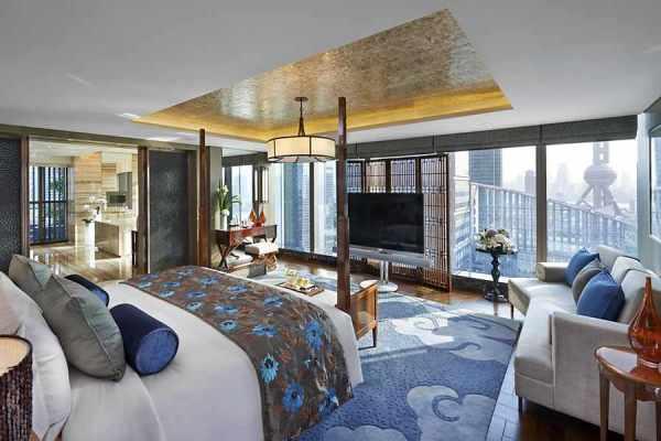 Presidential Suite at Mandarin Oriental Pudong,Shanghai Top Luxury Hotels