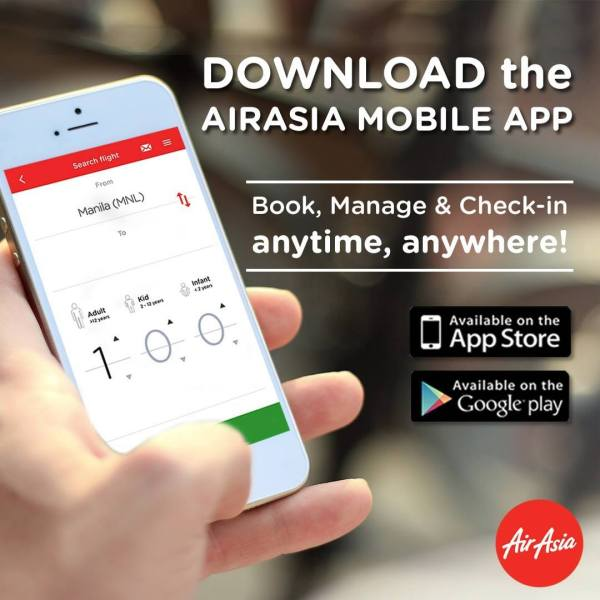 Book, manage, check-in your flights and get Instant Discounts anytime, anywhere with the AirAsia Mobile App!