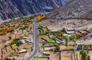 Gojal Valley by Mohib Baig via Wikipedia CC