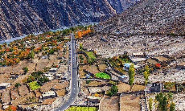 Gojal Valley by Mohib Baig via Wikipedia CC