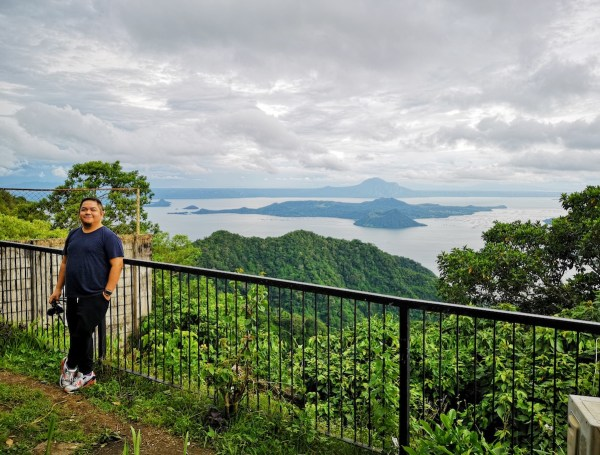 Outside my room at Taal Vista