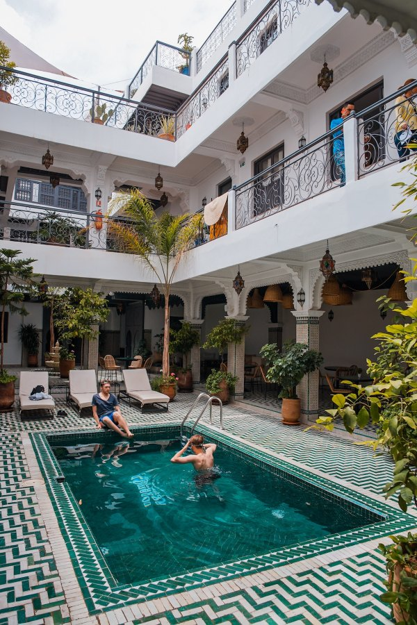 Rodamon Riad Marrakech by Toa Heftiba via Unsplash