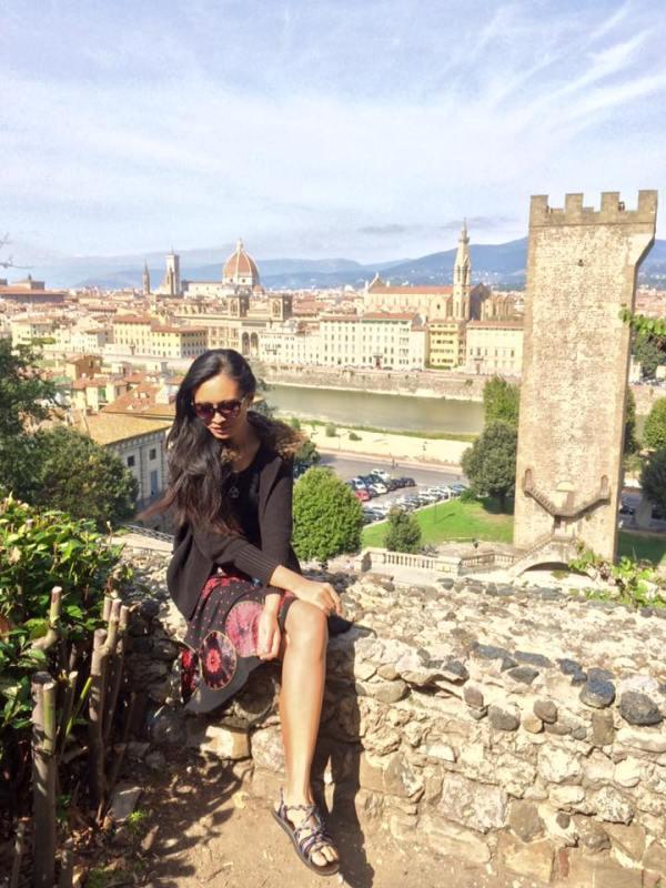 Sarah in Florence