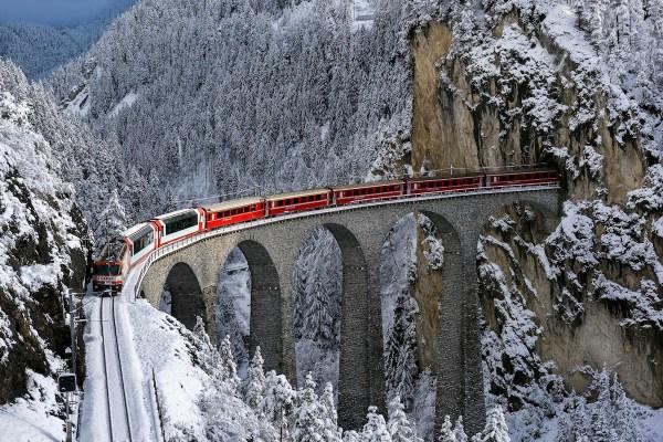 The Landwasser viaduct (Photo courtesy of Michael Nebuloni)
