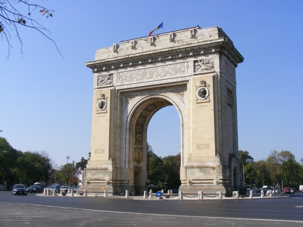 Arcul de Triumf in Bucharest
