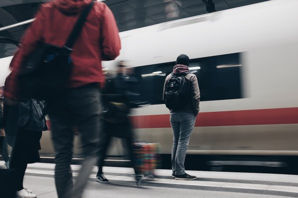 Berlin Central Station by Mike Kotsch via Unsplash